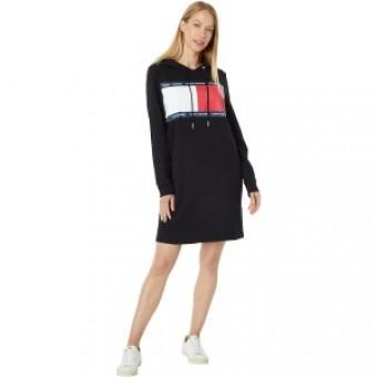 Φόρεμα | Μακρυμάνικο | Logo | Μαύρο | Κουκούλα