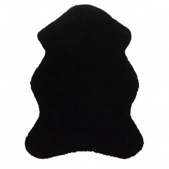 Χαλάκι γούνινο τομαράκι | Puffy  FC9 Black Antislip