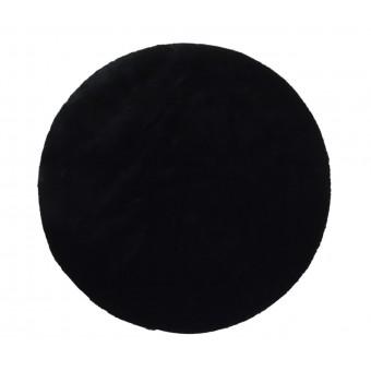 Χαλί γούνα | FC9 Puffy Black New Antislip