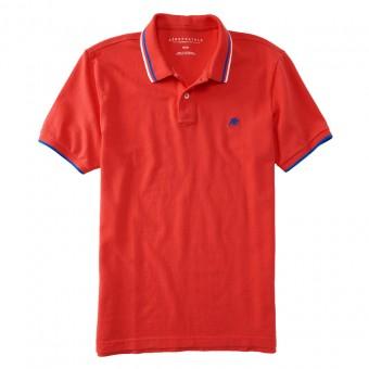 Μπλούζα Polo κοντομάνικη | Κόκκινο | Πικέ