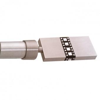 Κουρτινόξυλο μεταλλικό   nikel ματ Φ25   Nerta