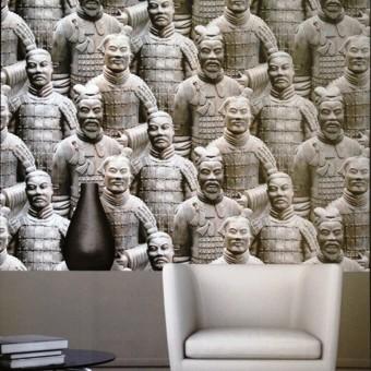 Ταπετσαρία τοίχου | Πήλινος Στρατός | Just Like It