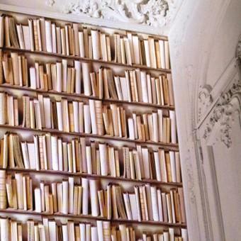 Ταπετσαρία τοίχου | Βιβλιοθήκη | Virtual Reality