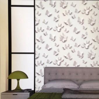 Ταπετσαρία τοίχου | Πεταλούδες 3D | Just Like It