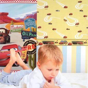 Ταπετσαρία τοίχου παιδική | Disney | Cars
