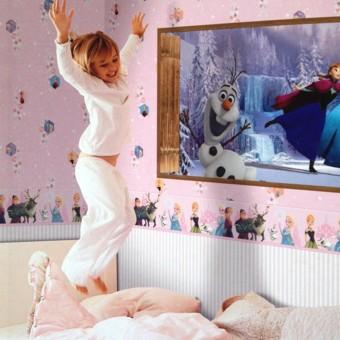 Ταπετσαρία τοίχου παιδική | Disney | Frozen