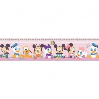 Ταπετσαρία τοίχου παιδική   Μπορντούρα   Disney   Cenefa Mickey Roza