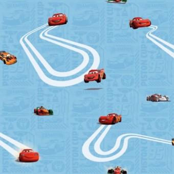 Ταπετσαρία τοίχου παιδική   Μπορντούρα   Disney   Cars