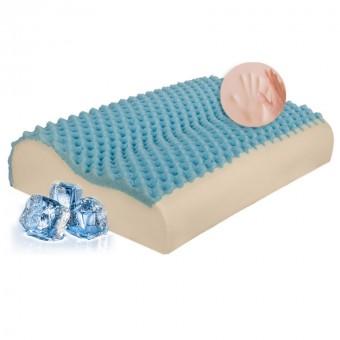 Μαξιλάρι Memory Foam cool gel   Visco Elastic