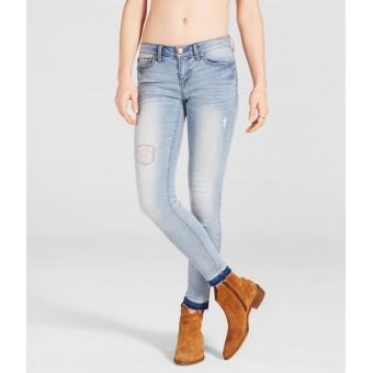 Παντελόνι Γυναικείο | Jean | Εφαρμοστό | Σκισίματα