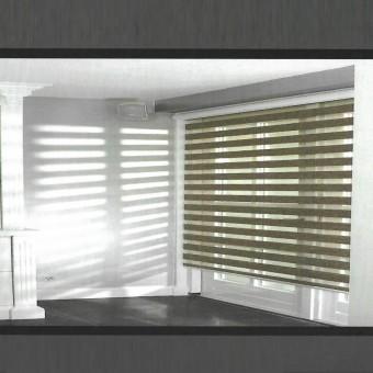 Ρόλερ 120Χ150 | Magic Light Woodlook | Natural SN-N34 | Καφέ