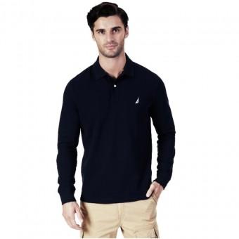 Μπλούζα Polo μακρυμάνικη |Navy