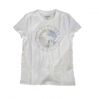 Μπλούζα παιδική | μακό κοντομάνικη λευκή