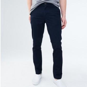 Παντελόνι υφασμάτινο | slim straight | μπλε navy | Νο 33x32