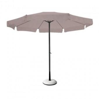 Ομπρέλα κήπου Alu διαμέτρου 3 μέτρων | E926,2  μπέζ