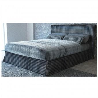 Κρεβάτι για στρώμα 160x200 με υφασμα αποσπωμενο και ανατομικο τελαρο