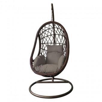 Αιώρα - πολυθρόνα κρεμαστή Macan Cappucino καφέ | Ε6766,3