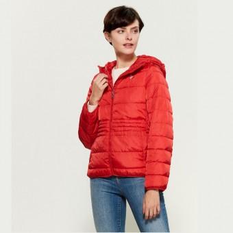 Μπουφάν Γυναικείο | jacket | Αδιάβροχο | puffer | Κόκκινο