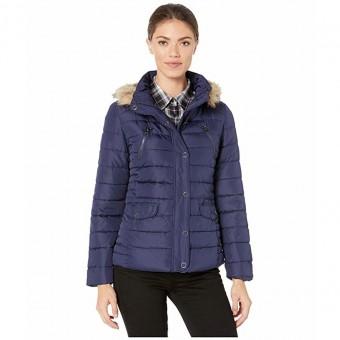 Μπουφάν Γυναικείο | jacket | Αδιάβροχο | αποσπώμενη κουκούλα με γούνα | Large