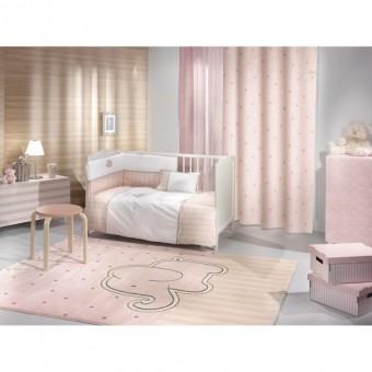 Κουρτίνα παιδική   Starlight Pink 160x250