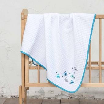 Κουβέρτα πικέ bebe   Blob   110x140