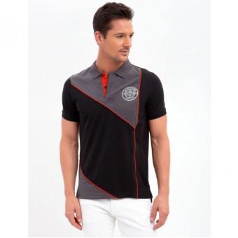 Μπλούζα Polo κοντομάνικη | 118811EE Black
