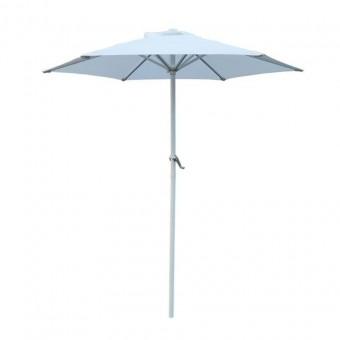 Ομπρέλα κήπου Alu διαμέτρου 2 μέτρων | E925,11 λευκή