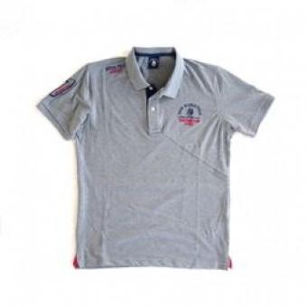 Μπλούζα Polo κοντομάνικη | γκρί | 10151