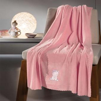 Κουβέρτα bebe   Mythical Pink   100x140