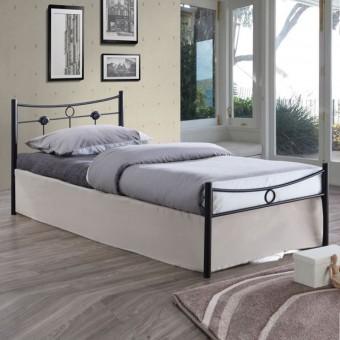 Κρεβάτι μονό | μεταλλικό σφυρίλατο | Dugan E8068
