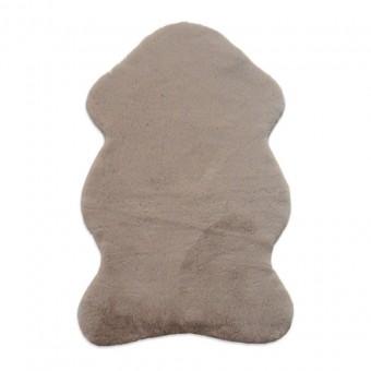 Χαλάκι γούνινο τομαράκι | Puffy T-FC5 Taupe Antislip