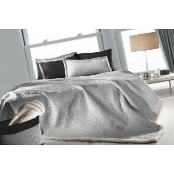 Κουβέρτα με προβατάκι | Ristretto Silver | 160Χ220 | ultrasoft
