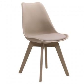 Καρέκλες 2 τεμ. Martin-II   ΕΜ137,9   μπέζ