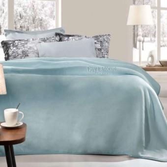 Κουβέρτα μονή | Smooth Indigo 160x220 | jacquard
