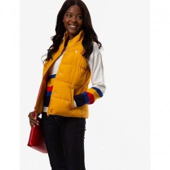 Αμάνικο Μπουφάν Γυναικείο   US Polo Assn   Αδιάβροχο   Κίτρινο