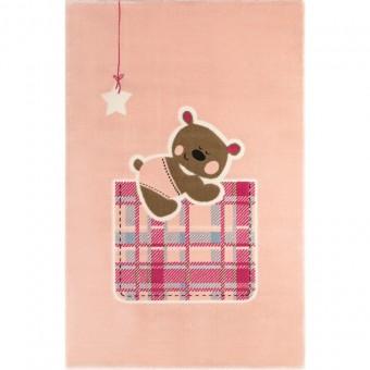 Χαλί παιδικό Teddy Pink 150X200