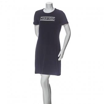 Φόρεμα | Αμάνικο | Logo | Μαύρο