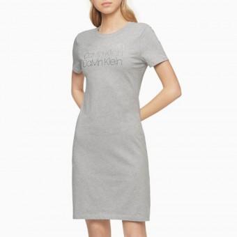 Φόρεμα | Κοντομάνικο | Logo | Γκρι ανοιχτό | CD9A1K49-7HT