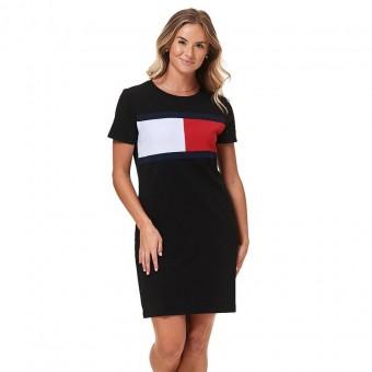 Φόρεμα | Αμάνικο | Logo | Μαύρο | A0SJ3BB3-BLK