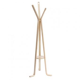 Καλόγερος HAMILTON Bent Wood Σημύδα   D. 60 H.178cm