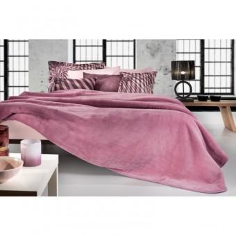 Κουβέρτα με βελουτέ | Smooth Opal | 220x240