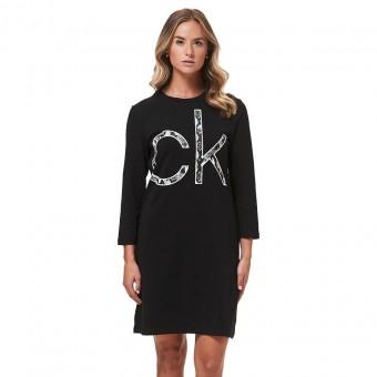 Φόρεμα | Μακρυμάνικο | Logo | Μαύρο | CD9A1J82-BLK