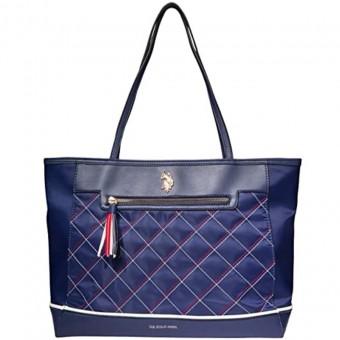 Τσάντα Γυναικεία | Χειρός | U.S. Polo Assn.® Stitched Tote | Navy | 27A125AA