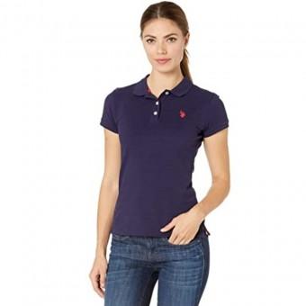 Μπλούζα Γυναικεία   Κοντομάνικη   Solid Opp Polo   Logo   Mπλε   2639008N/NVRD