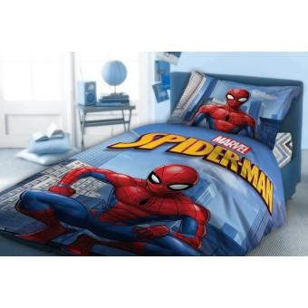 Παιδικά σεντόνια μονά 3 τεμ. Spiderman | 911 | 160x240