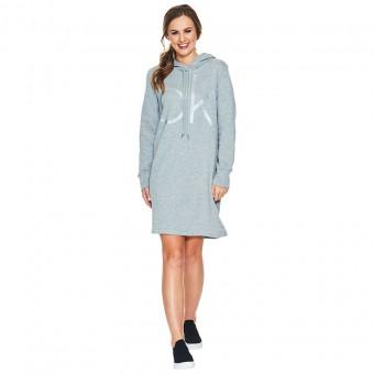 Φόρεμα | Μακρυμάνικο | Αθλητικό | Heather grey | CD9A2J40-7HT