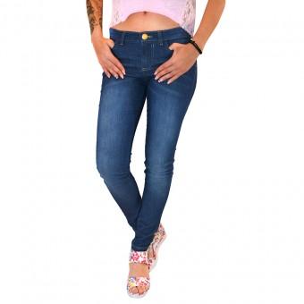 Παντελόνι Jean | Στενή γραμμή | Κεντητό Logo