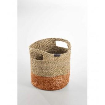 Καλάθι πολλαπλών χρήσεων | Jute Basket Coral