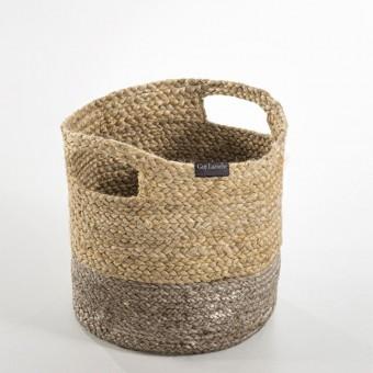 Καλάθι πολλαπλών χρήσεων | Jute Basket Grey