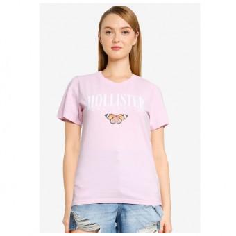 Μπλούζα Γυναικεία | Κοντομάνικη | Ροζ | Νο Large